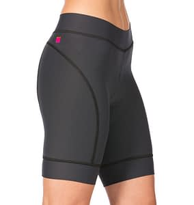 Side view closeup of Terry Breakaway Short in Charcoal