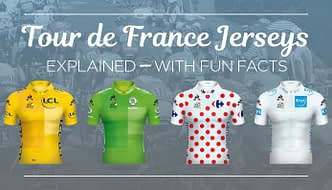 Tour de France Jerseys Explained With Fun Facts