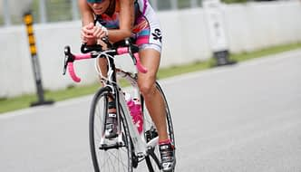 Terry sponsored duathlete Tory Jones in competition