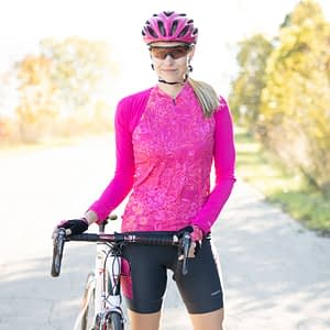 Bolero Light for versatile sun and chill protection for cyclists