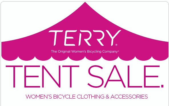 Annual Terry Tent Sale.