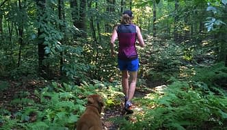 Favorite Terry Bike Gear - trail running in the Bella Sleeveless