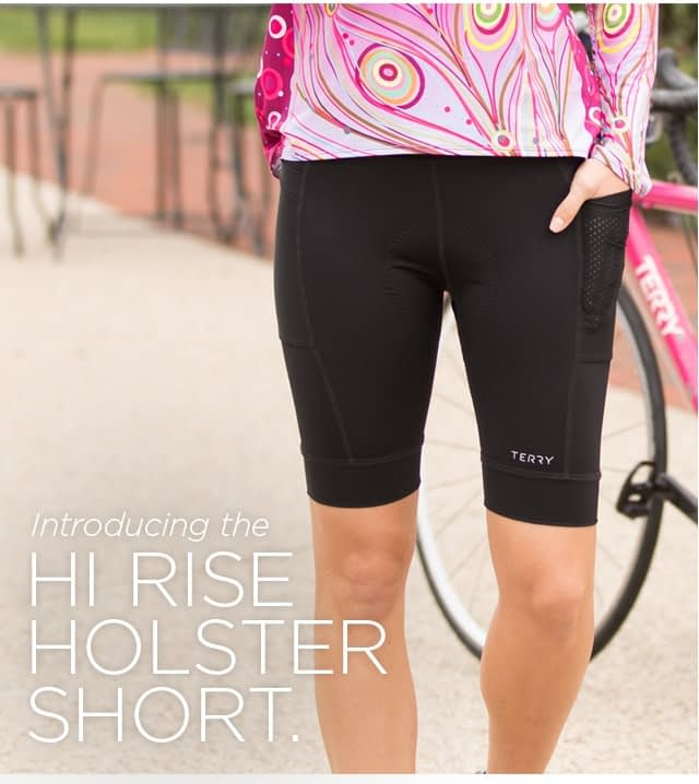 Holster Hi Rise Cycling Shorts by Terry