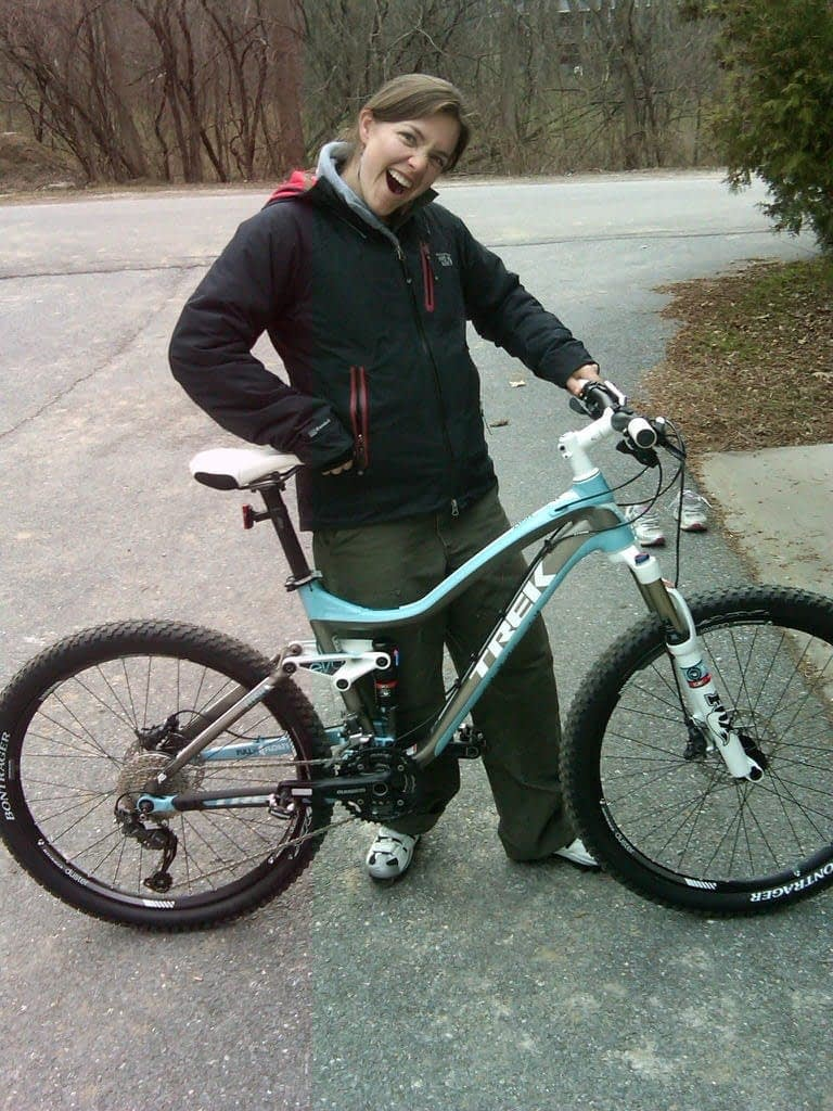 Our Director of Sales, David Howard shared this rockin' moment of his daughter with her first mountain bike.