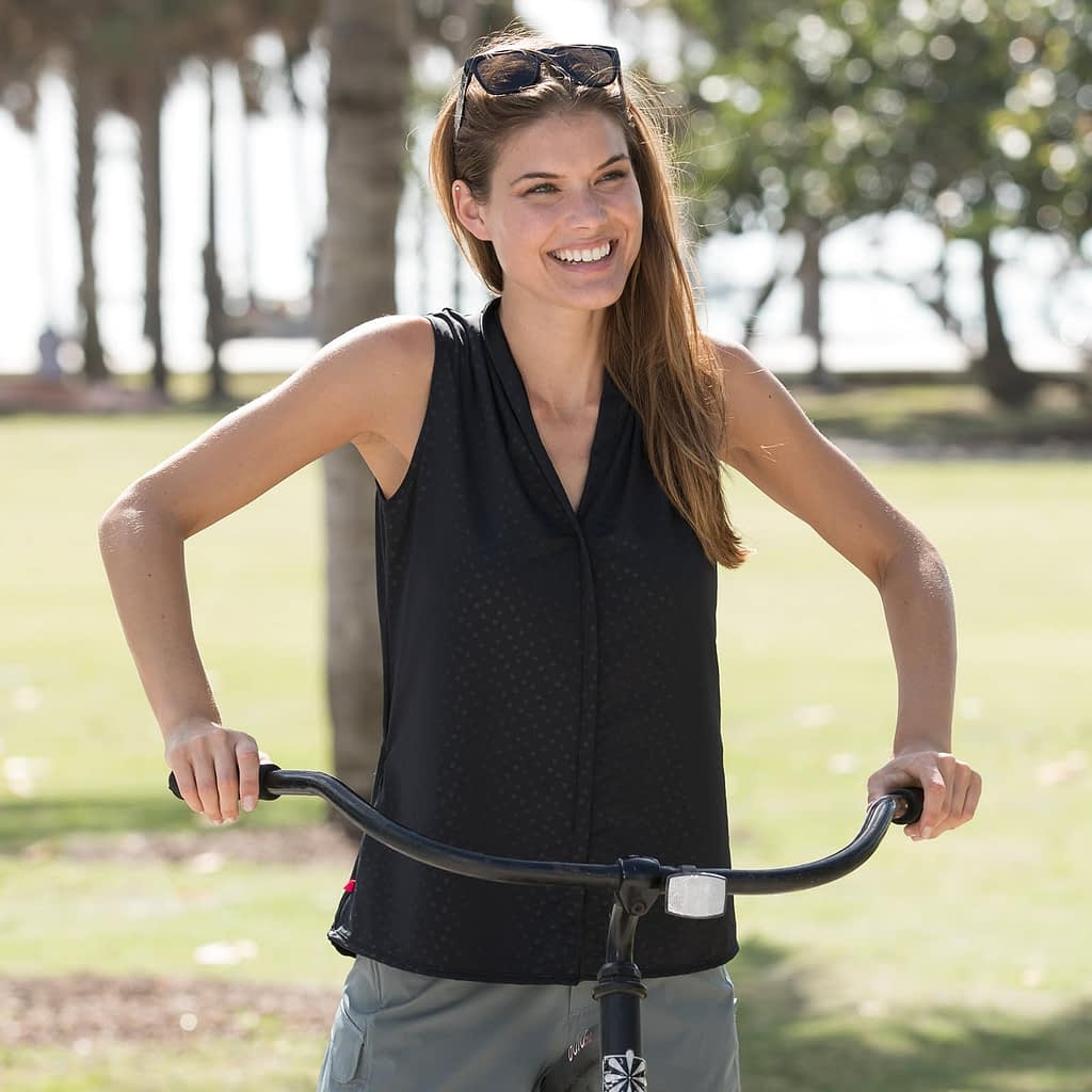 Transit top cycling shirt - bike to work clothing