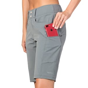 Metro Short - Carbon - bike to work clothing shorts
