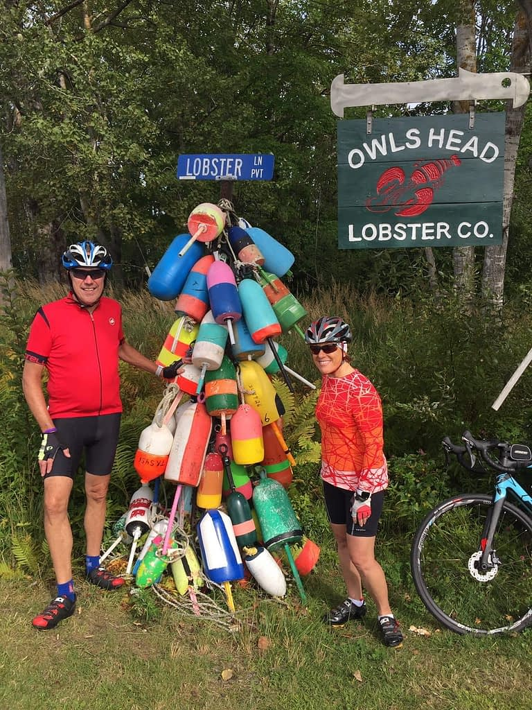 Bike Maine 2019, lobster definitely a recurring theme on any route through Maine