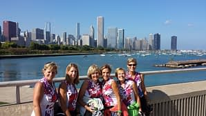 Gals from Dubuque conquer Chicago.