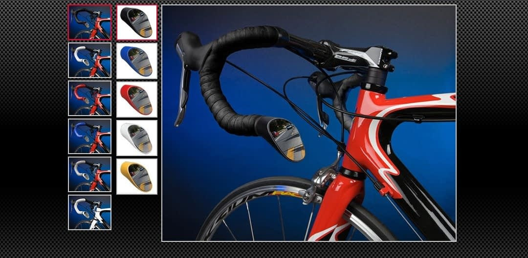 Road Bike Bar Ends from Sprintech Racing are easy to insert and provide an on-bike alternative.