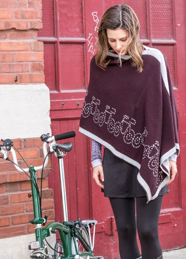 Bike Poncho; Stretch Midi