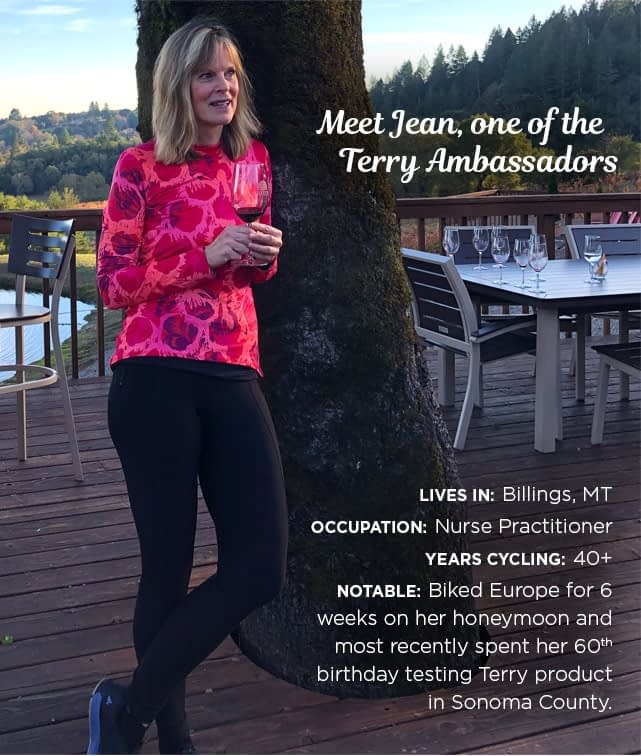 Meet Jean, Terry Ambassador – rocking the Coolweather Tight