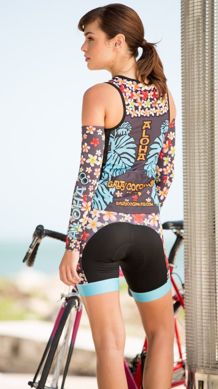 Ride with Aloha in the Plumeria Lei Collection.