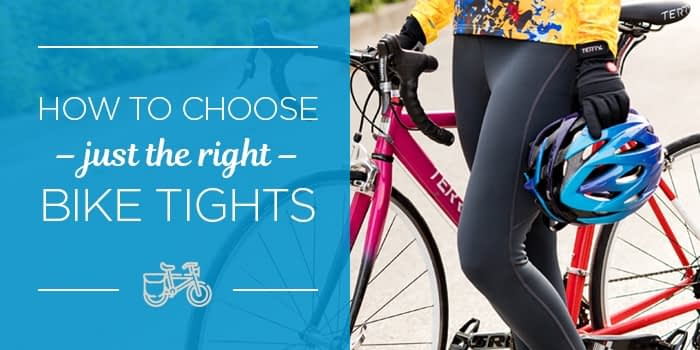 How to choose just the right bike tights