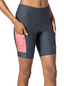 Soleil Bike Short In Apex. Best women's bike shorts for performance with personality.