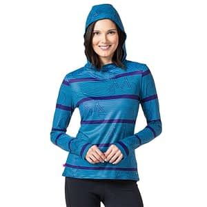 soleil hoody gives great sun protection for cyclists