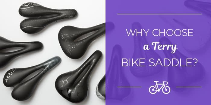 Why choose a Terry bike saddle?