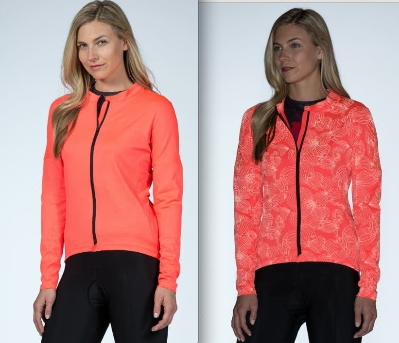 NEW Propelite Cycling Collection: floral visibility when illuminated.